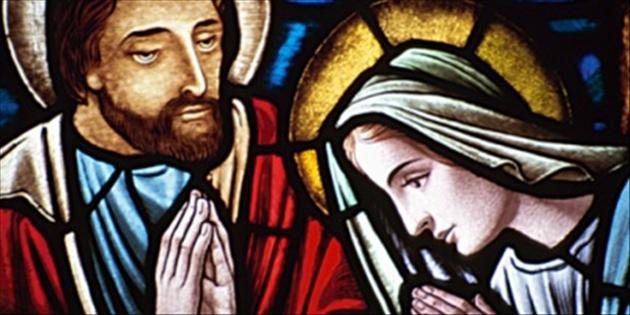Mary & Joseph icon