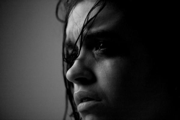 sad woman unwanted pregnancy abortion